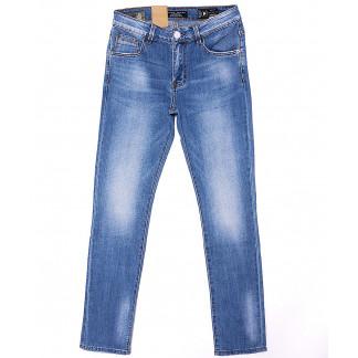 2080 Fang джинсы мужские молодежные с теркой весенние стрейч-котон (28-34, 8 ед.) Fang: артикул 1090134