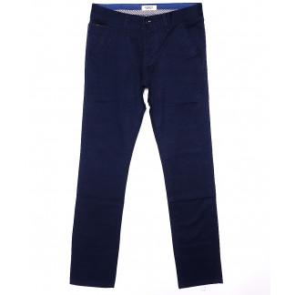 0668-1 Disvocas брюки мужские синие весенние стрейчевые (29-38, 8 ед.) Disvocas: артикул 1090532