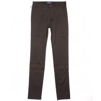 0636-4 Pobeda брюки мужские молодежные коричневые весенние стрейчевые (27-34, 8 ед.) Pobeda: артикул 1090581