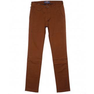 0640-6 Pobeda брюки мужские коричневые весенние стрейчевые (29-38, 8 ед.) Pobeda: артикул 1090590