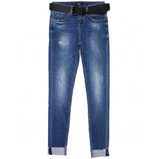 9425-626 Colibri джинсы женские зауженные с царапками весенние стрейч-котон (25-30, 6 ед.) Colibri: артикул 1090732