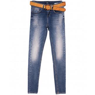 9429-630 Colibri джинсы женские зауженные с теркой весенние стрейчевые (25-30, 6 ед.) Colibri: артикул 1090734
