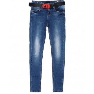 2003-627 Angelina Mara джинсы женские зауженные весенние стрейчевые (25-30, 6 ед.) Angelina Mara: артикул 1090745