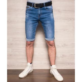 Шорты джинсовые мужские молодежные с ремнем ( 6041 Resalsa ) Resalsa: артикул 1093278