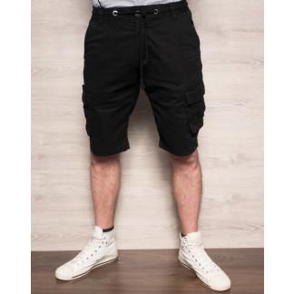 Шорты мужские с боковыми карманами черные ( 77876-1 X-FEEL ) X-FEEL: артикул 1093281