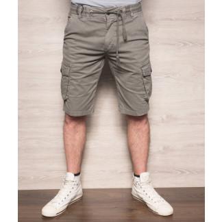 Шорты мужские с боковыми карманами серые ( 77876-4 X-FEEL ) X-FEEL: артикул 1093282