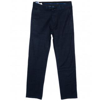 0822 Index брюки мужские синие весенние стрейч-котон (31-38, 6 ед.) Index: артикул 1094011