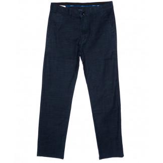 0815 Index брюки мужские синие весенние стрейч-котон (31-38, 6 ед.) Index: артикул 1094013