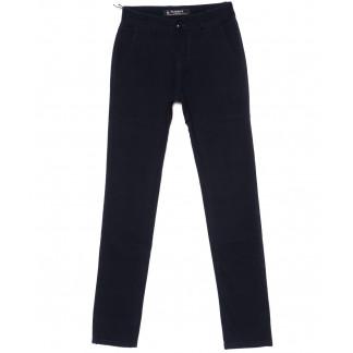 67071 Pr.Minos брюки мужские молодежные темно-синие стрейчевые (27-34, 8 ед.) Pr.Minos: артикул 1094491