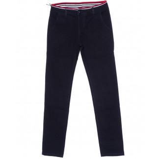 67136 Pr.Minos брюки мужские молодежные темно-синие стрейчевые (27-34, 8 ед.) Pr.Minos: артикул 1094493