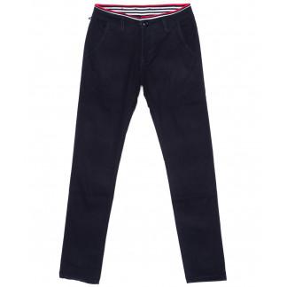67135 Pr.Minos брюки мужские молодежные темно-синие стрейчевые (27-34, 8 ед.) Pr.Minos: артикул 1094494