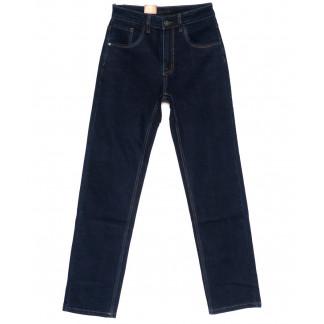 120209 LS джинсы мужские классические темно-синие осенние стрейчевые (30-38, 8 ед.) LS: артикул 1094605