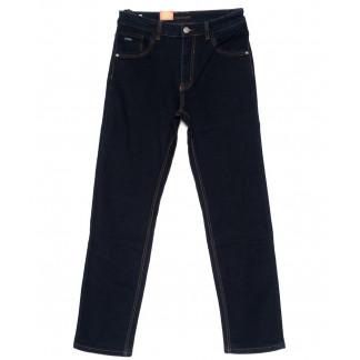 120213 LS джинсы мужские батальные классические темно-синие осенние стрейчевые (32-38, 8 ед.) LS: артикул 1094606