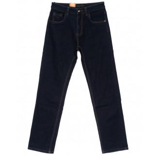 120208 LS джинсы мужские классические темно-синие осенние стрейчевые (30-38, 8 ед.) LS: артикул 1094607