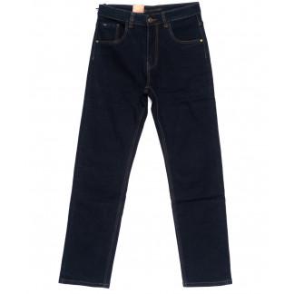 120214 LS джинсы мужские батальные классические темно-синие осенние стрейчевые (32-38, 8 ед.) LS: артикул 1094608