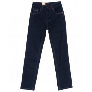 120206 LS джинсы мужские классические темно-синие осенние стрейчевые (30-38, 8 ед.) LS: артикул 1094609