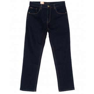 120220-D LS джинсы мужские батальные классические темно-синие осенние стрейчевые (34-42, 8 ед.) LS: артикул 1094614