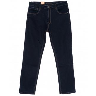 120219-D LS джинсы мужские батальные классические темно-синие осенние стрейчевые (34-42, 8 ед.) LS: артикул 1094616