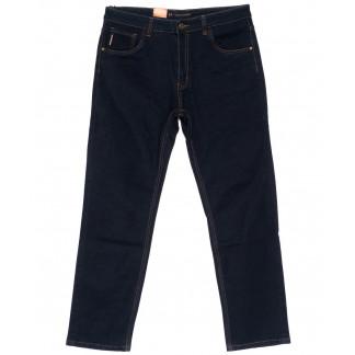120217-D LS джинсы мужские батальные классические темно-синие осенние стрейчевые (34-42, 8 ед.) LS: артикул 1094617
