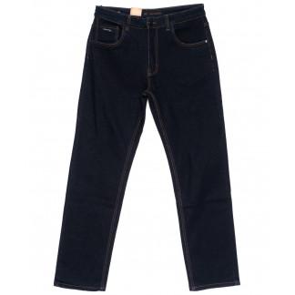 120221-D LS джинсы мужские батальные классические темно-синие осенние стрейчевые (34-42, 8 ед.) LS: артикул 1094618