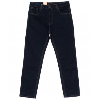120223-D LS джинсы мужские батальные классические темно-синие осенние стрейчевые (34-44, 8 ед.) LS: артикул 1094620