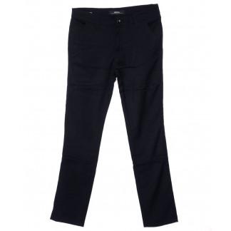 0217-2 Feerars брюки мужские молодежные темно-синие осенние стрейч-котон (27-34, 8 ед.) Feerars: артикул 1095206