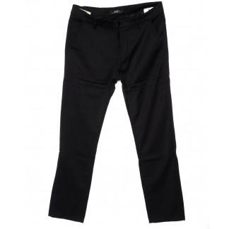 0209-1 Feerars брюки мужские батальные черные осенние стрейч-котон (32-38, 8 ед.) Feerars: артикул 1095212