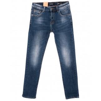 2137 Fang джинсы мужские синие осенние стрейчевые (30-38, 8 ед.) Fang: артикул 1095536