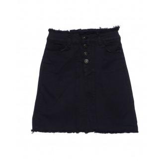 0501-синий Redmoon юбка джинсовая темно-синяя осенняя котоновая (25-30, 6 ед.)  REDMOON: артикул 1095610