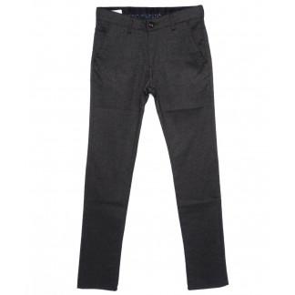 0294-KALIN-IZMIR-5 Missouri брюки мужские классические темно-серые осенние стрейч-котон (29-36, 7 ед.) Missouri: артикул 1095815