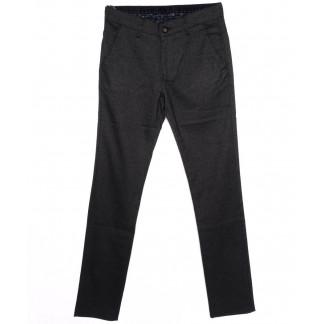 0294-KALIN-IZMIR-5 Missouri брюки мужские классические темно-серые осенние стрейч-котон (29-36, 7 ед.) Missouri: артикул 1095821