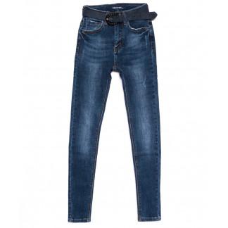 8176 Vanver джинсы женские зауженные с царапками осенние стрейчевые (25-30, 6 ед.) Vanver,Vanver: артикул 1095900