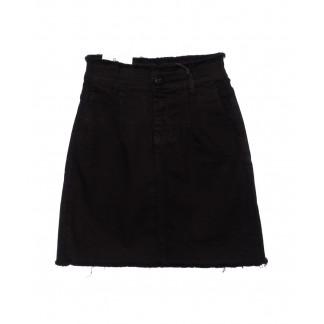1378 юбка Redmoon джинсовая черная осенняя стрейчевая (25-36, 6 ед.) Red Moon: артикул 1095997