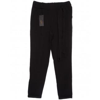 0527 X брюки женские черные с поясом осенние стрейчевые (40-46, норма, 4 ед.) X: артикул 1096070