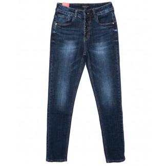 3538 Crosstyle джинсы женские на пуговицах синие осенние стрейчевые (25-30, 6 ед.) Crosstyle: артикул 1096104