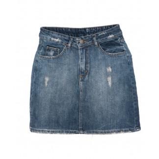 60633-синяя Defile юбка джинсовая осенняя котоновая (34-40, евро, 6 ед.) Defile: артикул 1096163