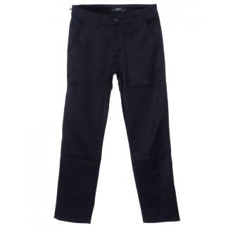 0221-2 Feerars брюки мужские батальные классические темно-синие осенние стрейчевые (32-42, 8 ед.)  Feerars: артикул 1096166