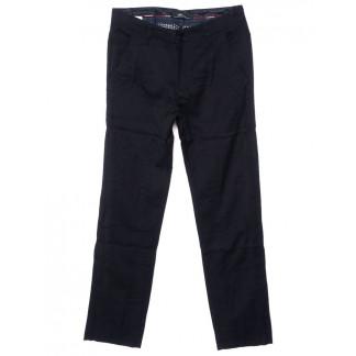 0037-K-2 (37K-2) Feerars брюки мужские молодежные классические темно-синие осенние стрейчевые (27-34, 8 ед.)  Feerars: артикул 1096167