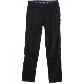 0038-K-1 (38K-1) Feerars брюки мужские молодежные классические черные осенние стрейчевые (27-34, 8 ед.)  Feerars: артикул 1096168