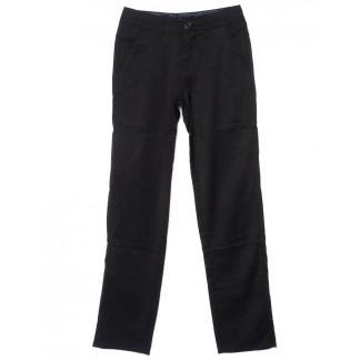 0037-K-1 (37K-1) Feerars брюки мужские молодежные классические черные осенние стрейчевые (27-34, 8 ед.)  Feerars: артикул 1096169