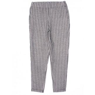 0217 X брюки женские в полоску осенние стрейчевые (42-48, норма, 4 ед.)  X: артикул 1096189