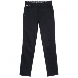0063-KLT New Jarsin брюки мужские классические темно-синие осенние котоновые (30-36, 8 ед.) New Jarsin: артикул 1096298