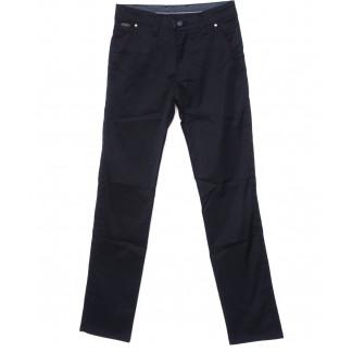 0063-KLB New Jarsin брюки мужские классические темно-синиеые осенние котоновые (30-36, 8 ед.) New Jarsin: артикул 1096299