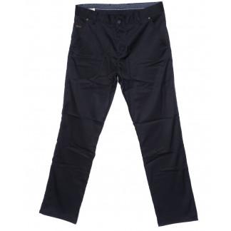 0979-KLT New Jarsin брюки мужские классические темно-синие осенние котоновые (33-40, 7 ед.) New Jarsin: артикул 1096300