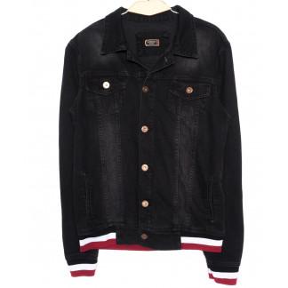 0371 Red Moon куртка мужская черная осенняя котоновая (S-XL, 4 ед.) Red Moon: артикул 1096318