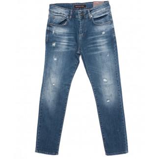 0466 Red Moon джинсы мужские с царапками зауженные осенние стрейчевые (29-36, 7 ед.) Red Moon: артикул 1096325