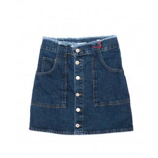 2996 XRAY юбка джинсовая на пуговицах осенняя котоновая (34-40, евро, 6 ед.) XRAY: артикул 1096472