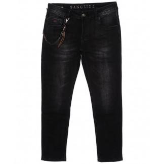 8170 Fangsida джинсы мужские молодежные темно-серые осенние стрейчевые (28-36, 8 ед.) Fangsida: артикул 1096619