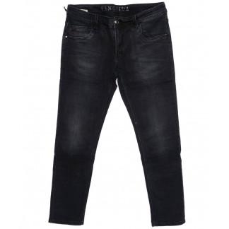 8142 Fangsida джинсы мужские батальные темно-серые осенние стрейчевые (32-38, 8 ед.) Fangsida: артикул 1096625