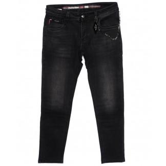 8164 Fangsida джинсы мужские молодежные темно-серые осенние стрейчевые (27-34, 8 ед.) Fangsida: артикул 1096627